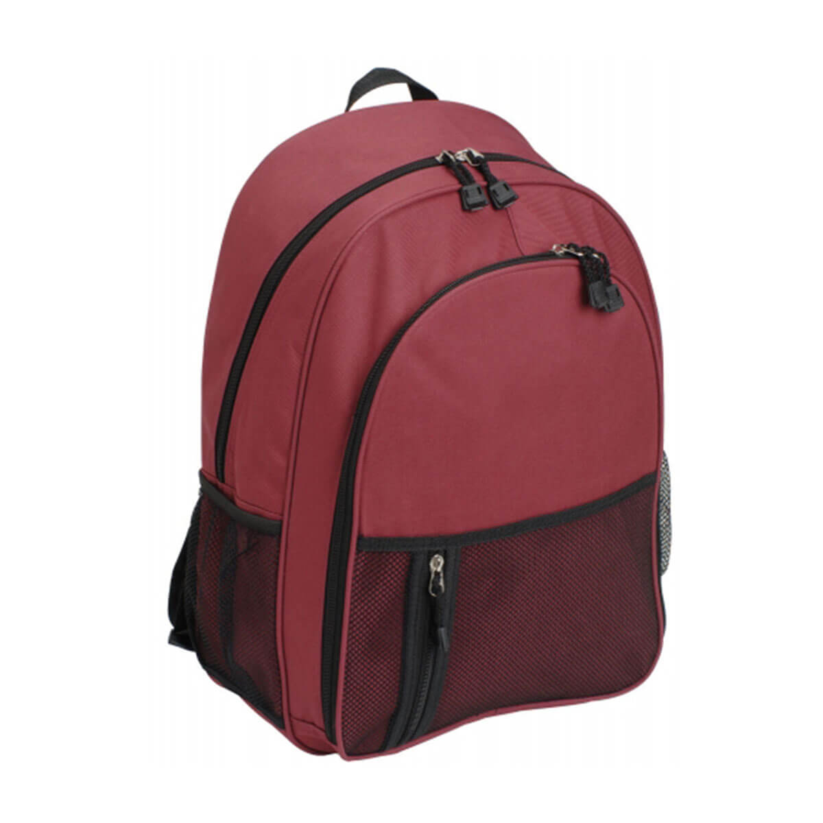 Casual Backpack-Maroon