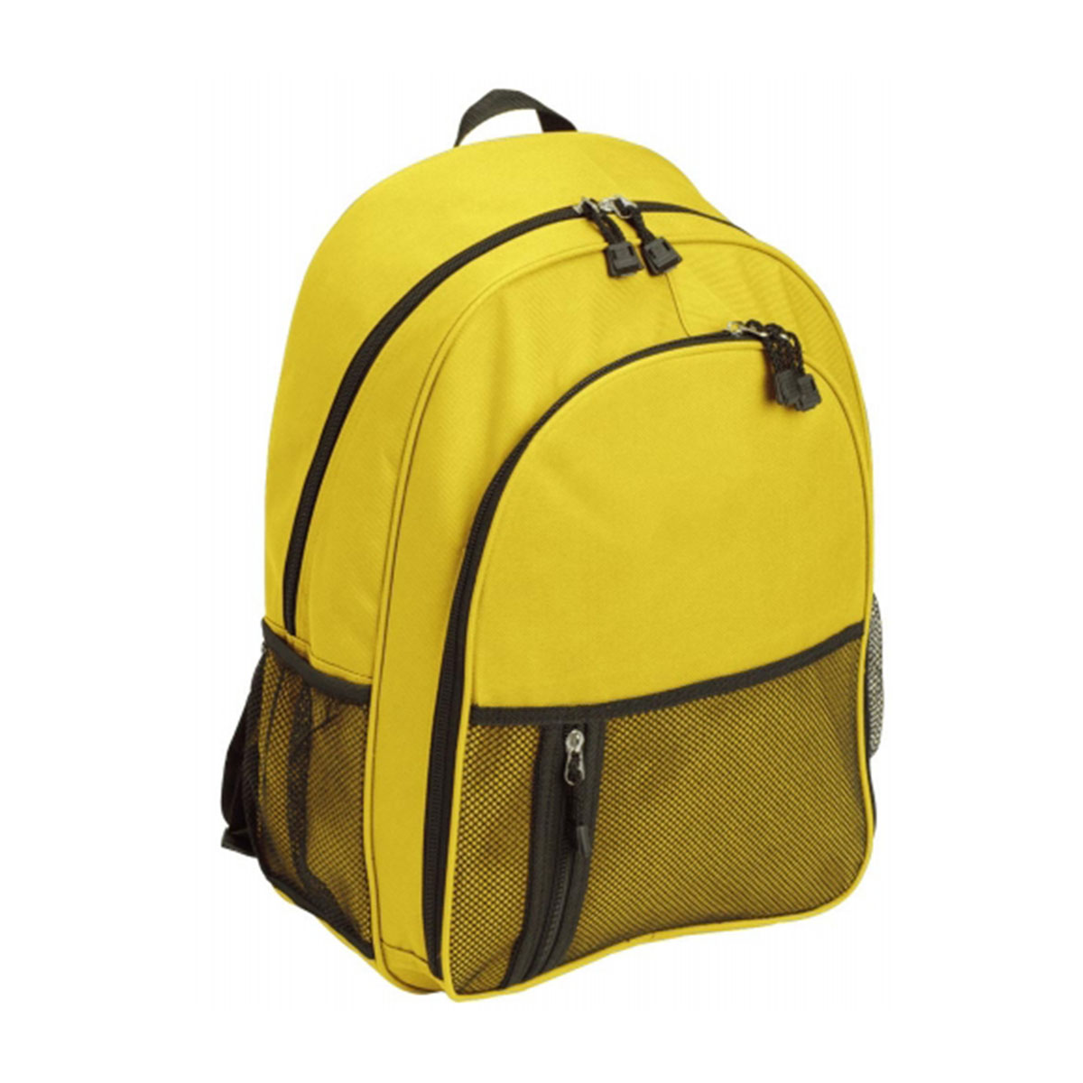 Casual Backpack-Yellow