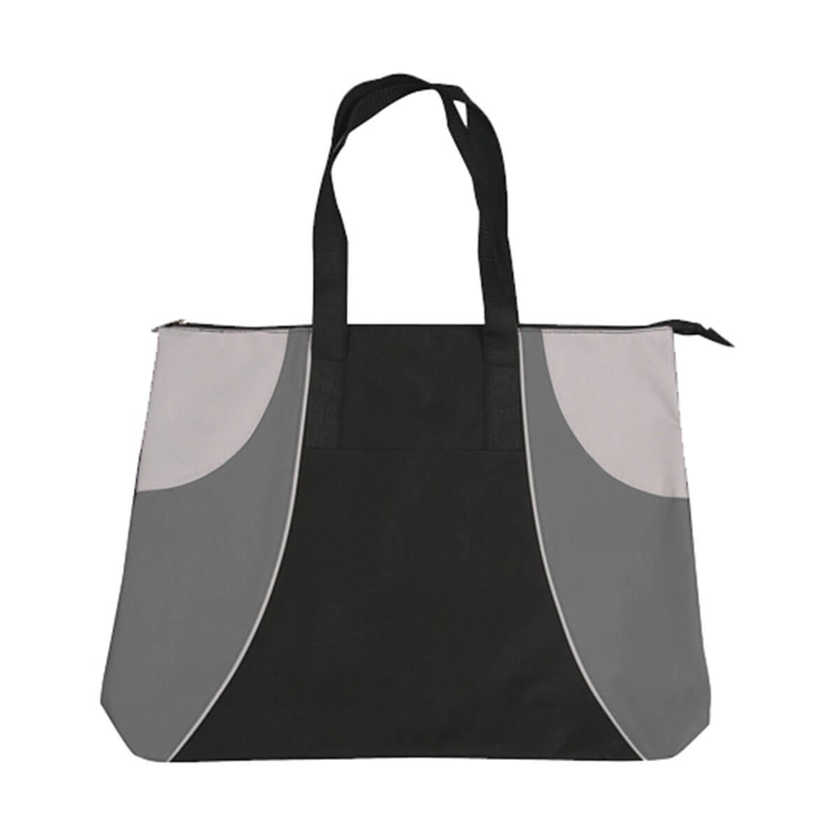 Alpine Tote Bag-Black / Grey / Silver