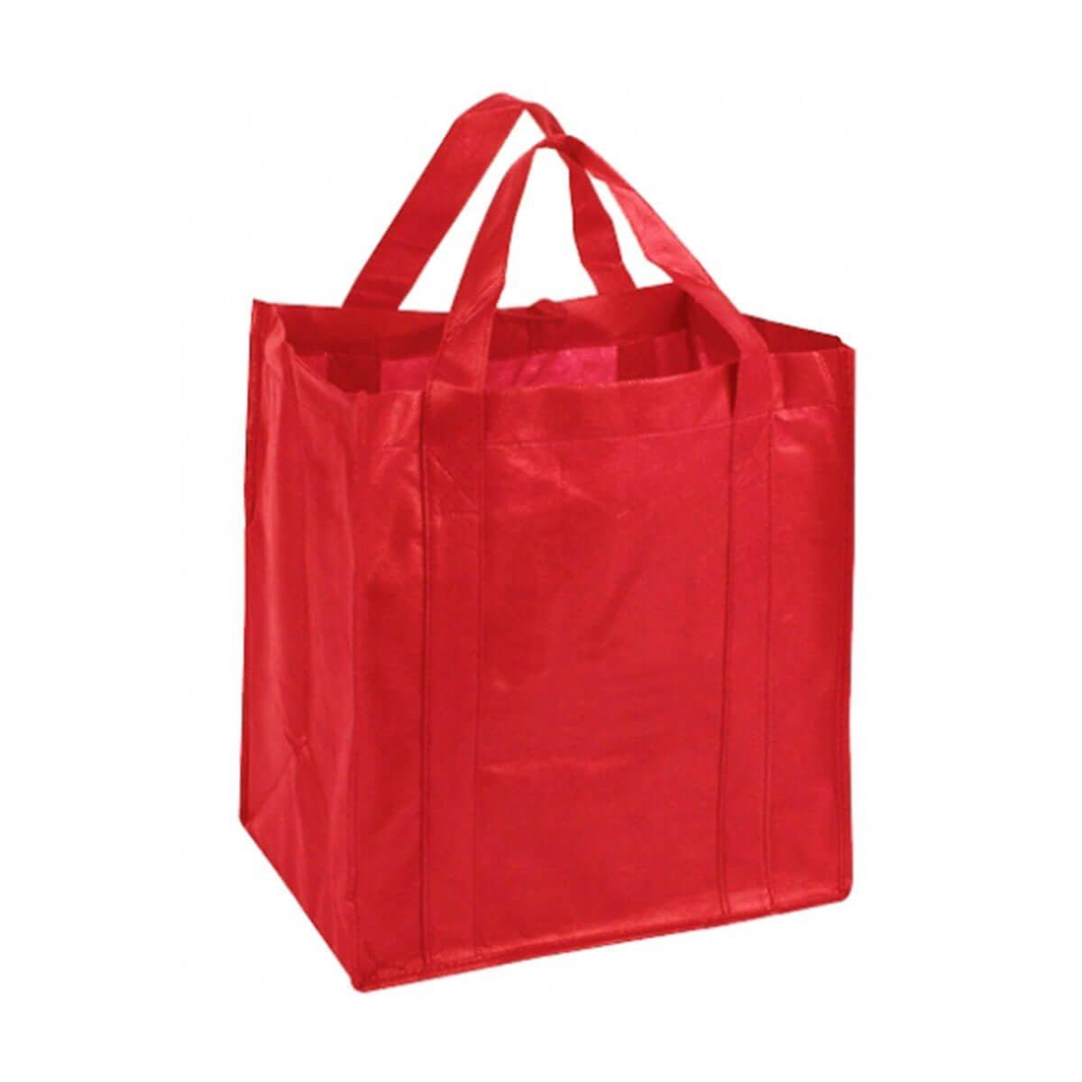 Non-Woven Shopping Bag-Red
