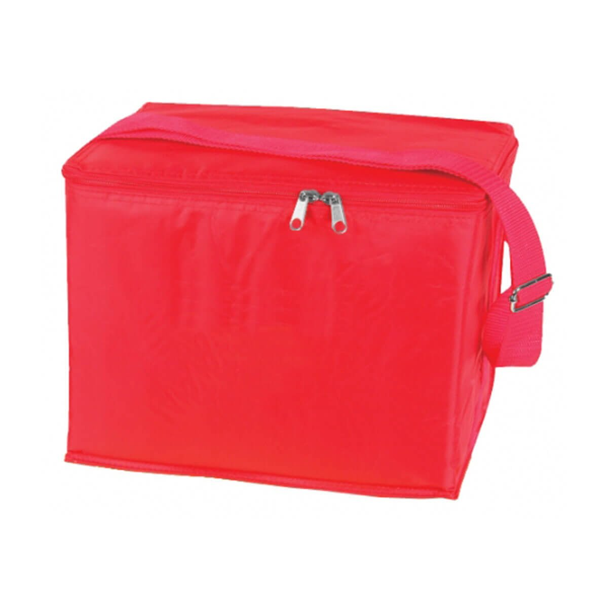 6 Can Cooler Bag-Red