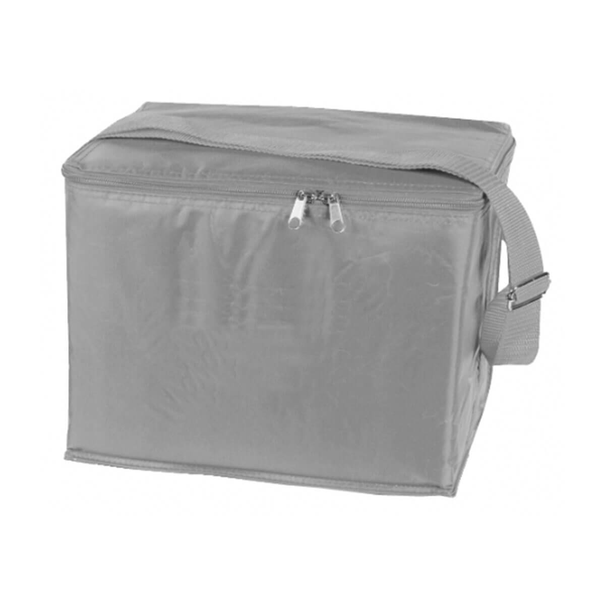 6 Can Cooler Bag-Silver