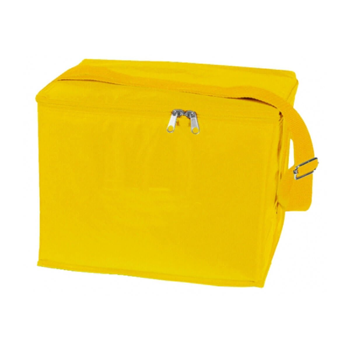 6 Can Cooler Bag-Yellow