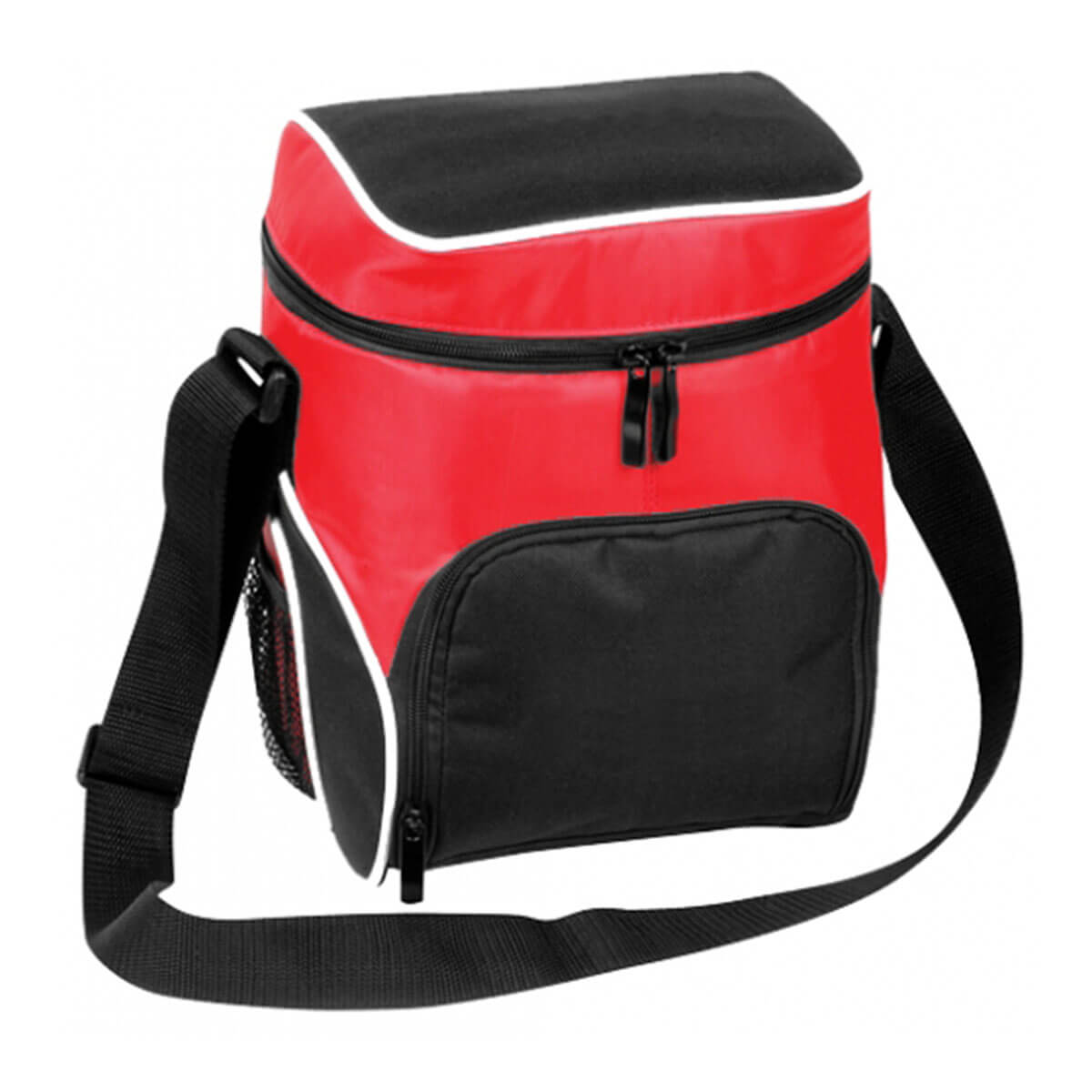 Cooler Bag-Black / White / Red