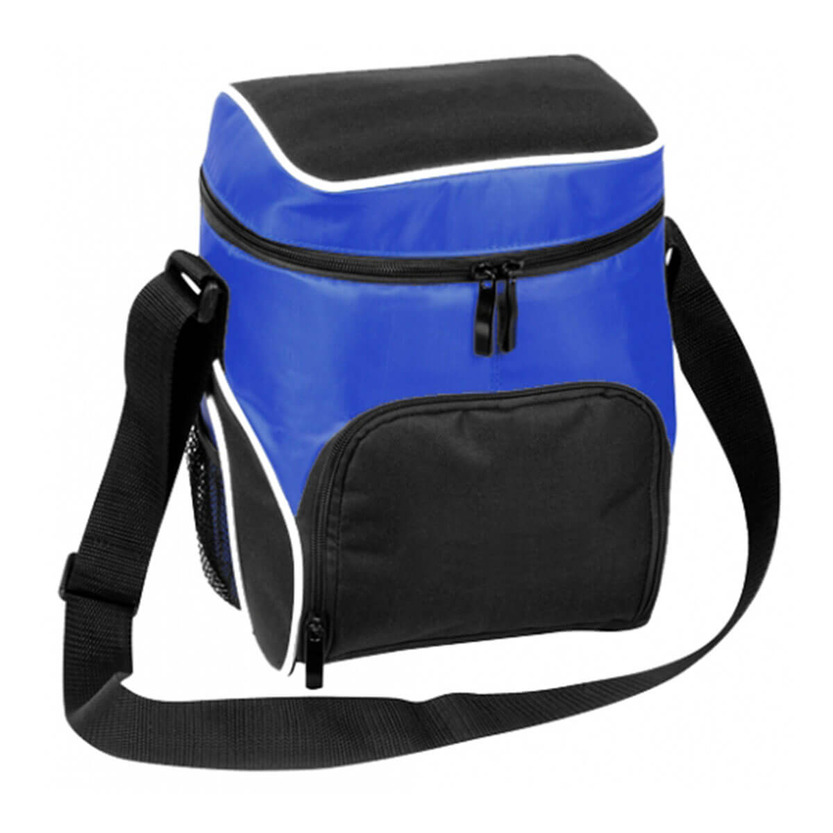 Cooler Bag-Black / White / Royal