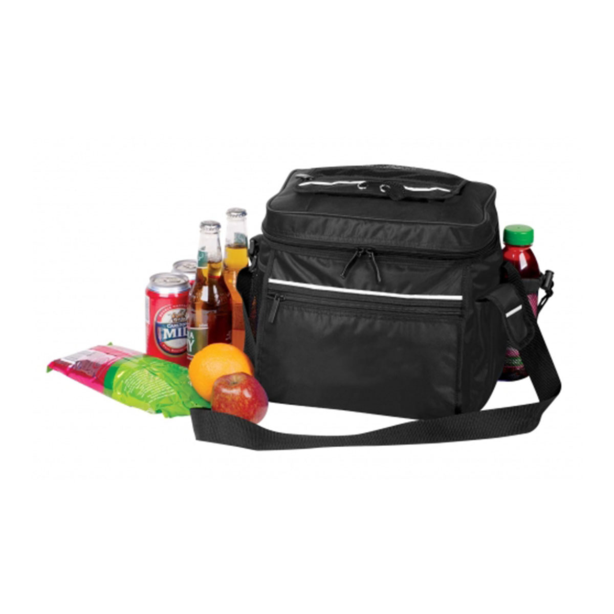 Cooler Bag-Black / White