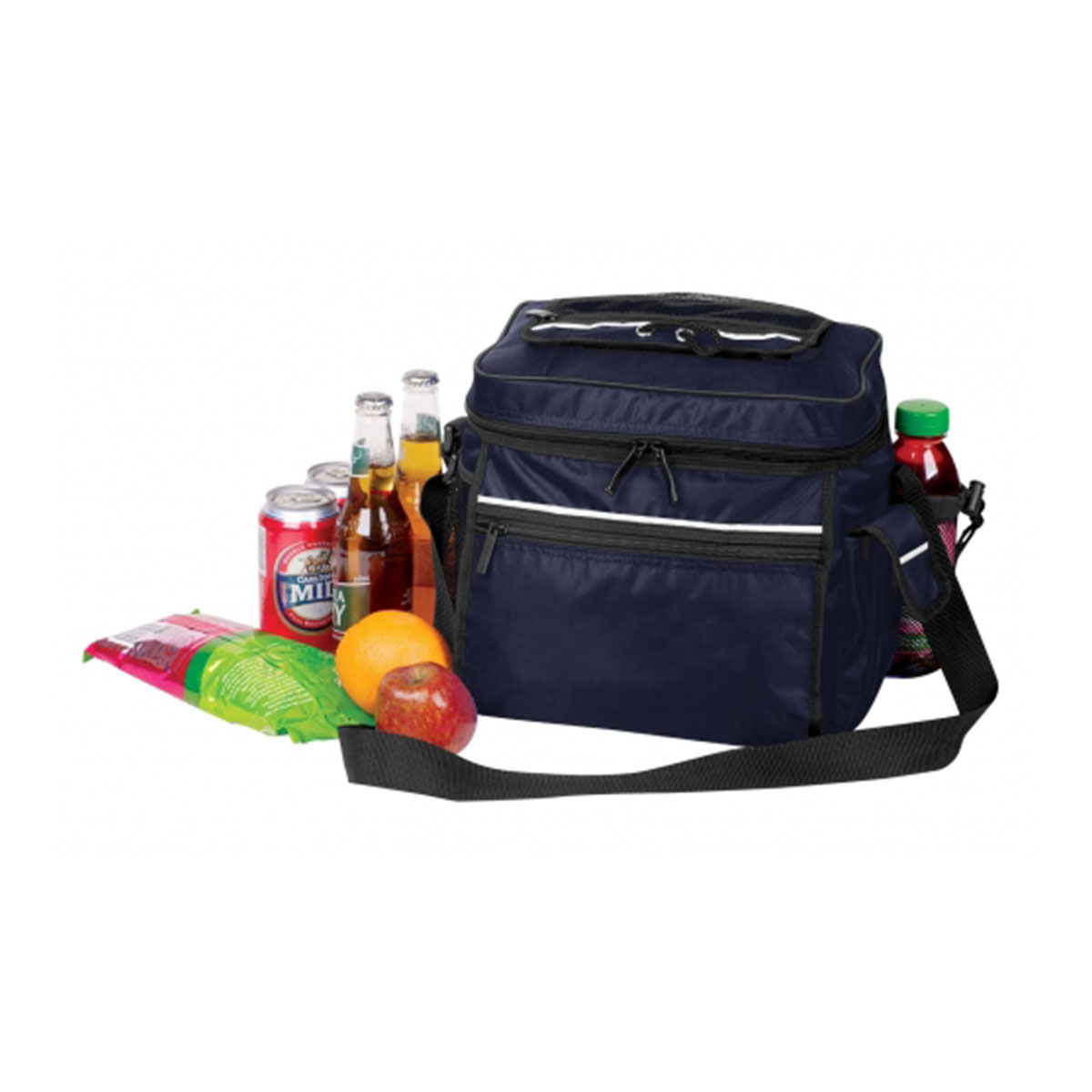 Cooler Bag-Navy / White