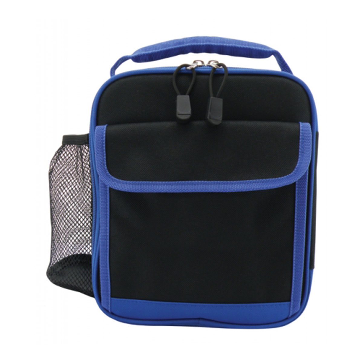 Ivory Cooler Bag-Black / Royal