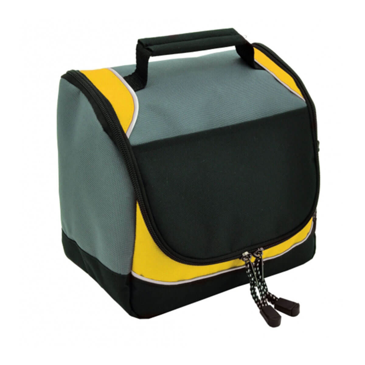 Rydges cooler bag-Black / Gold / White / Charcoal