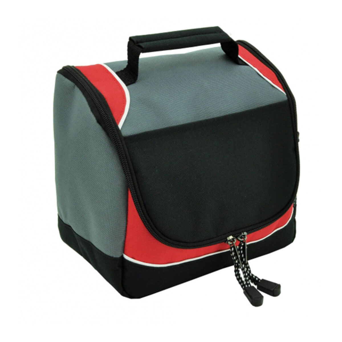 Rydges cooler bag-Black / Red / White / Charcoal