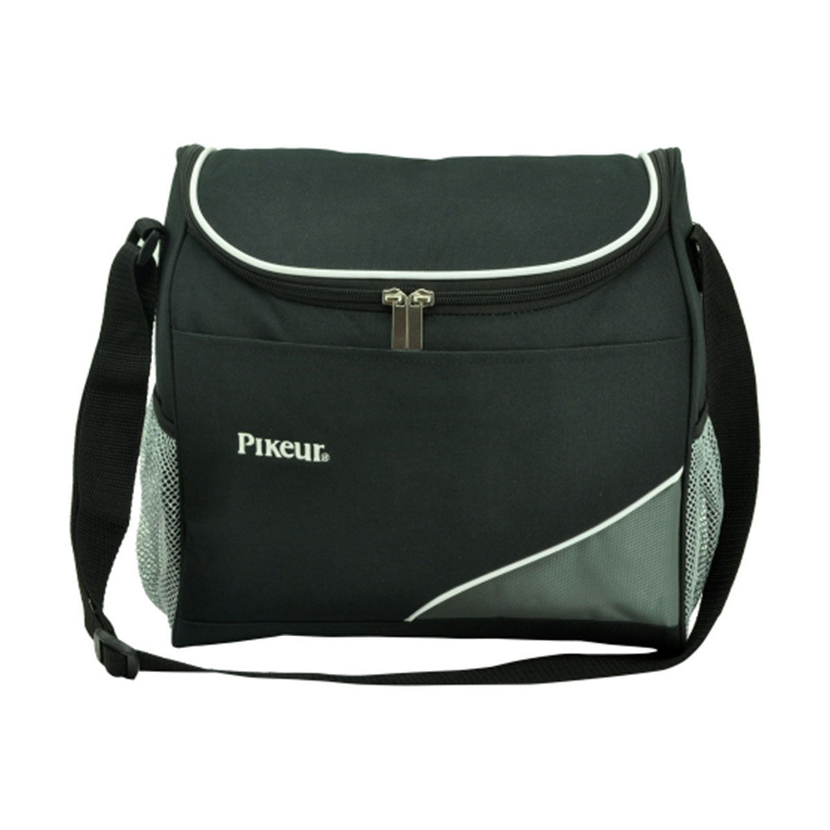 Caddy cooler bag-Black / White / Charcoal