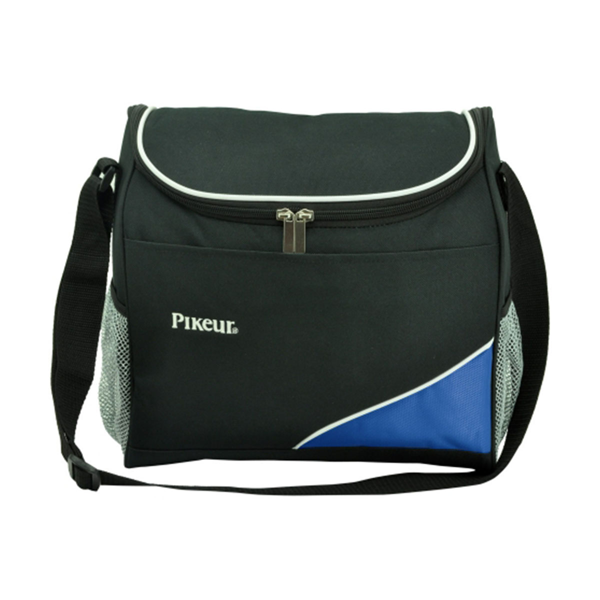 Caddy cooler bag-Black / White / Royal