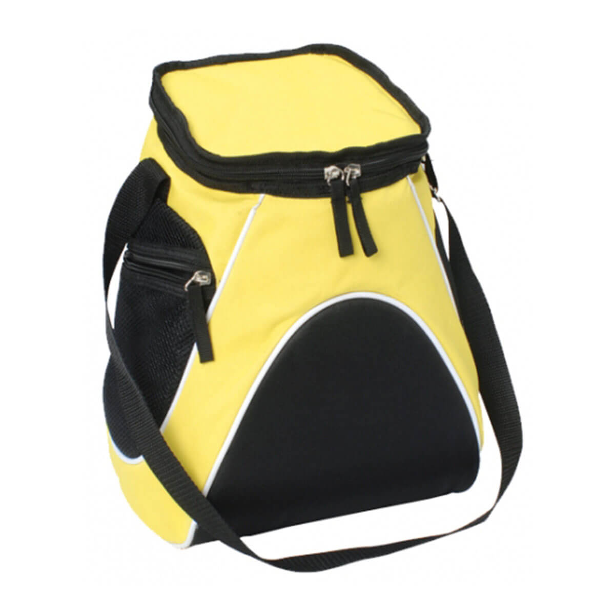 Sports Cooler Bag-Yellow / White / Black