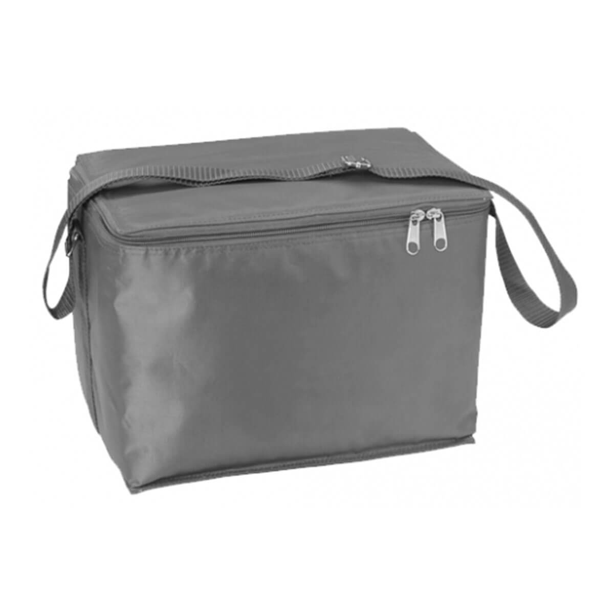12 Can Cooler Bag-Silver