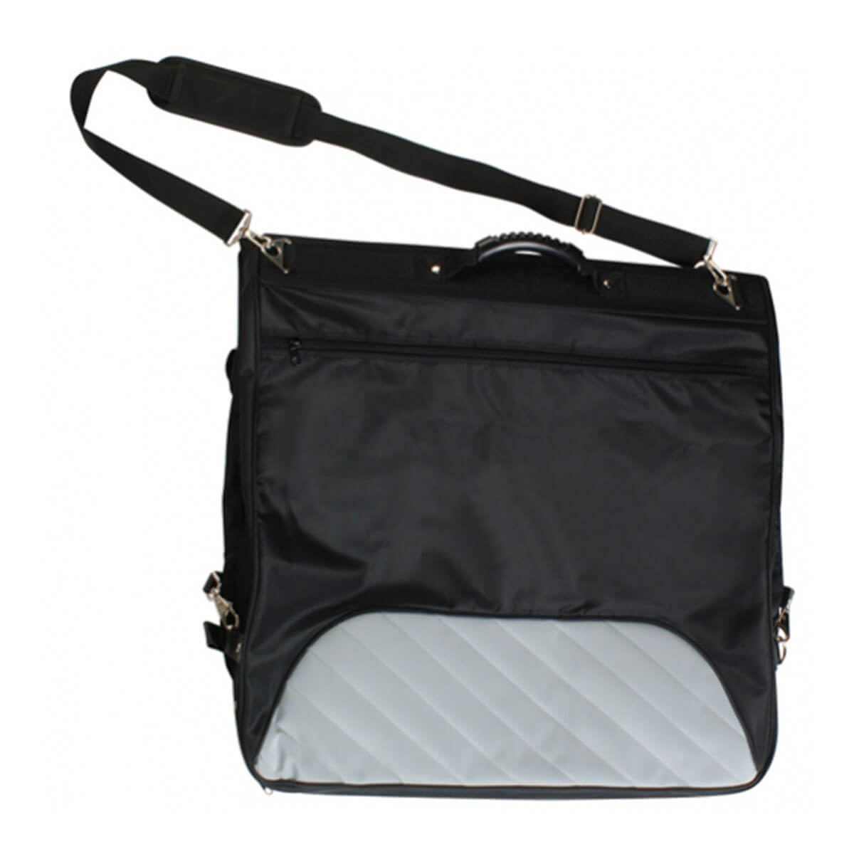 Garment Bag-Black / Grey