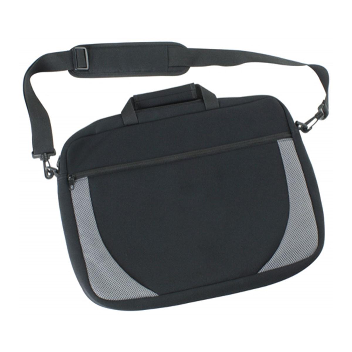 Hudson Shoulder Bag-Black / Silver