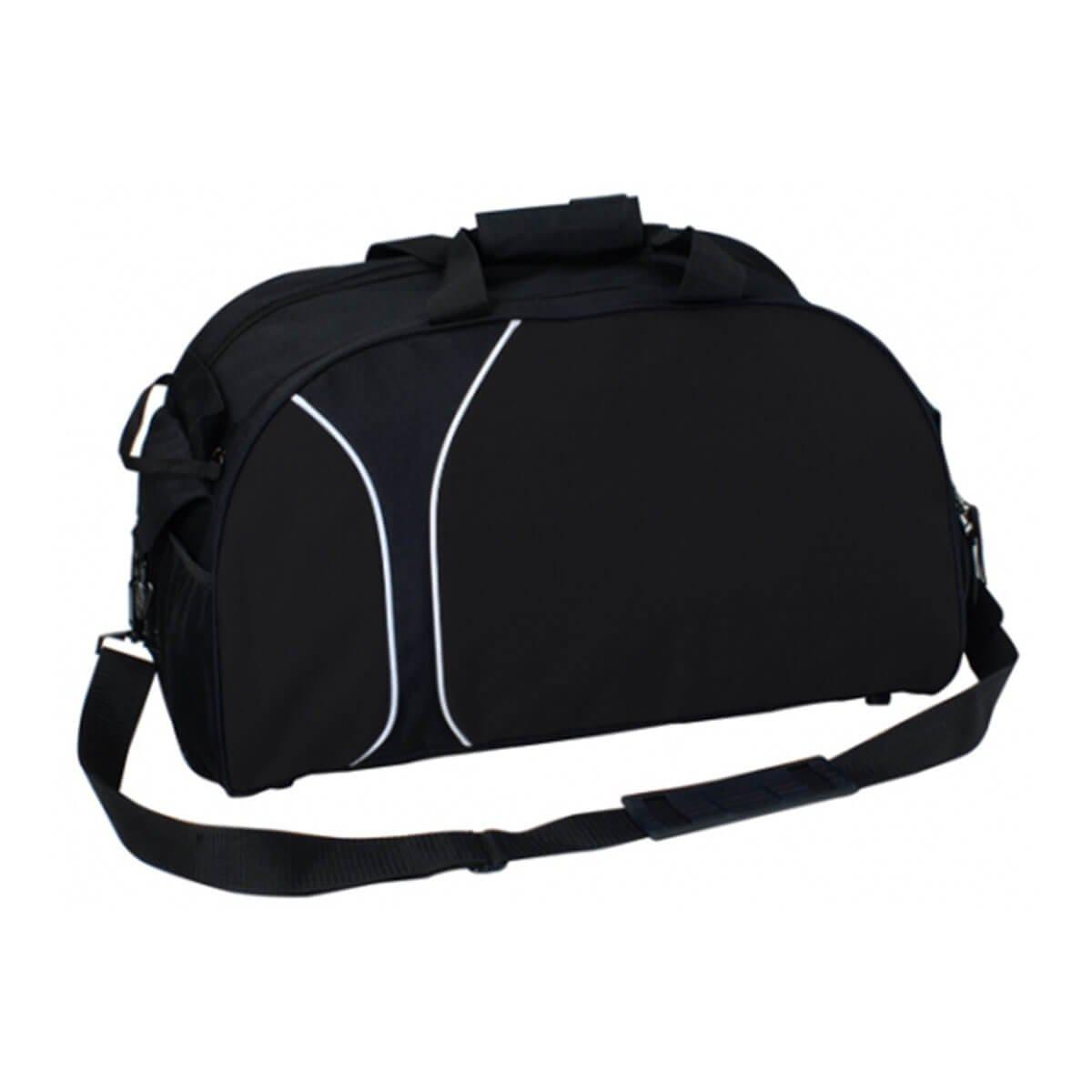 Travel Sports Bag-Black / Black
