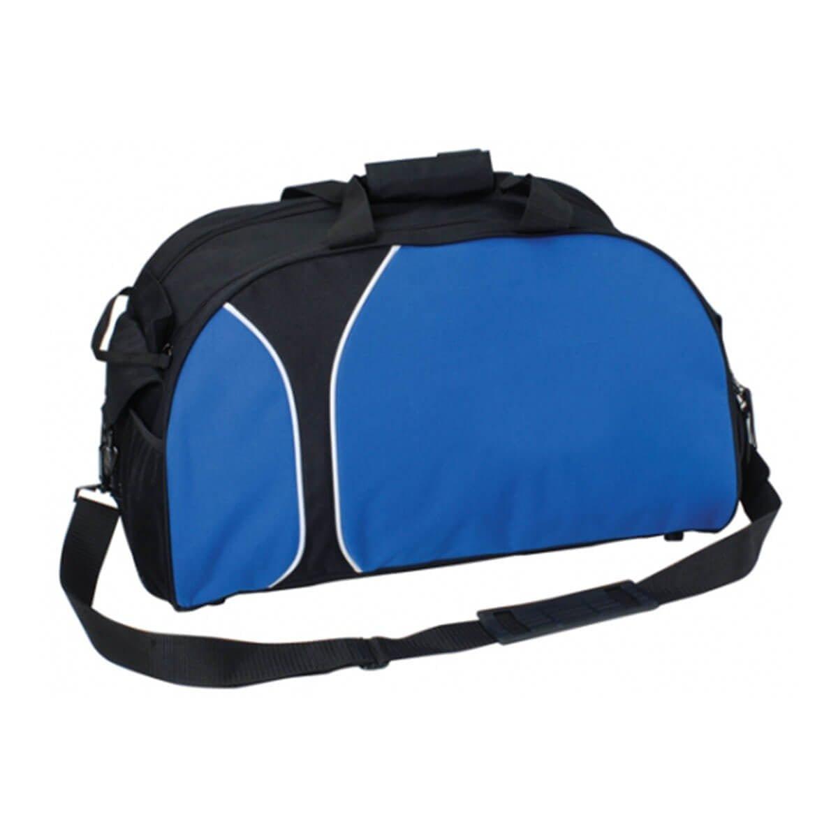 Travel Sports Bag-Black / Royal