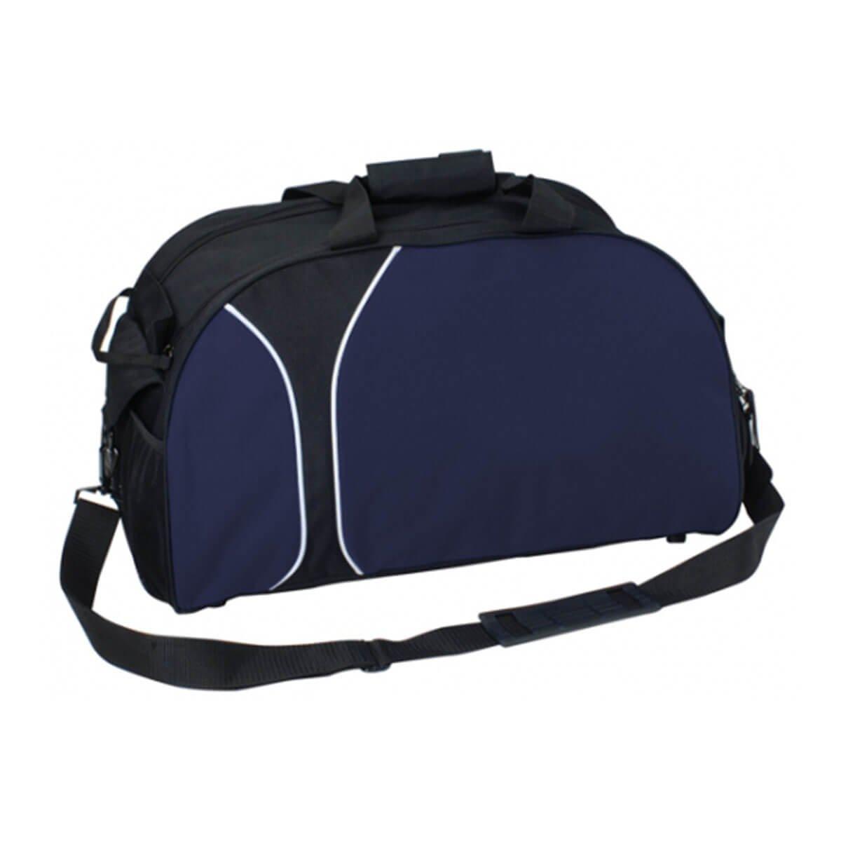 Travel Sports Bag-Black / Navy