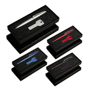 Gift Set with USB8011 Key USB & 627 Grobisen Pen