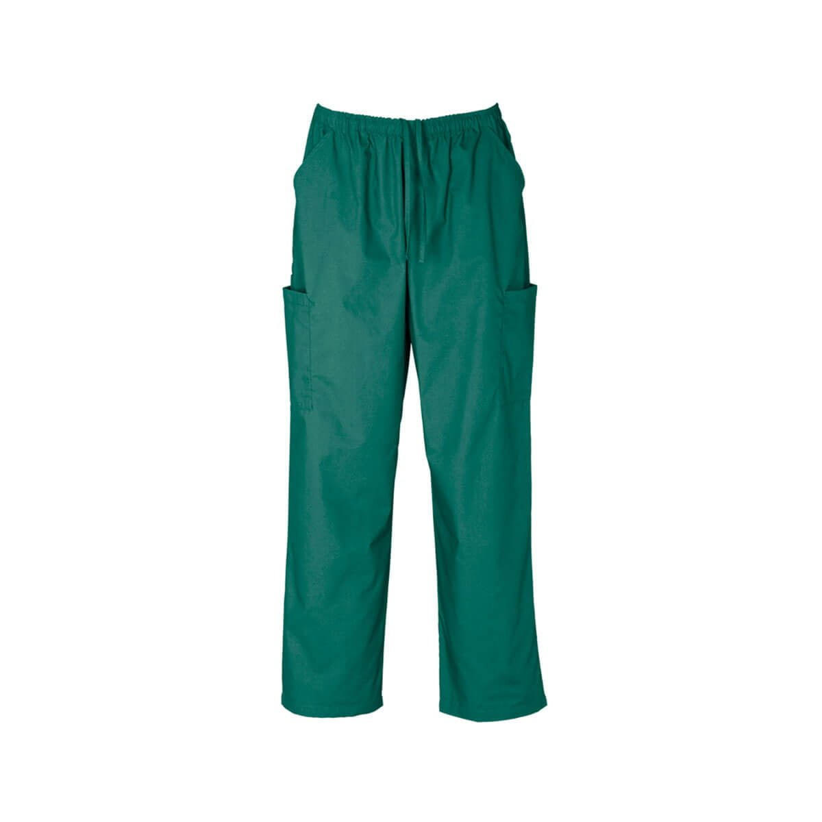 Unisex Classic Scrubs Cargo Pant-Hunter Green