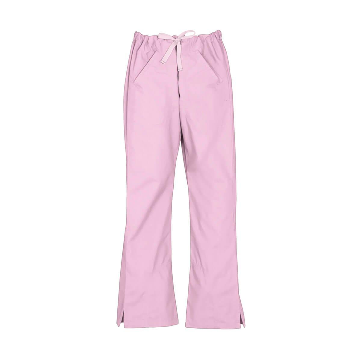 Ladies Classic Scrubs Bootleg Pant-Baby Pink