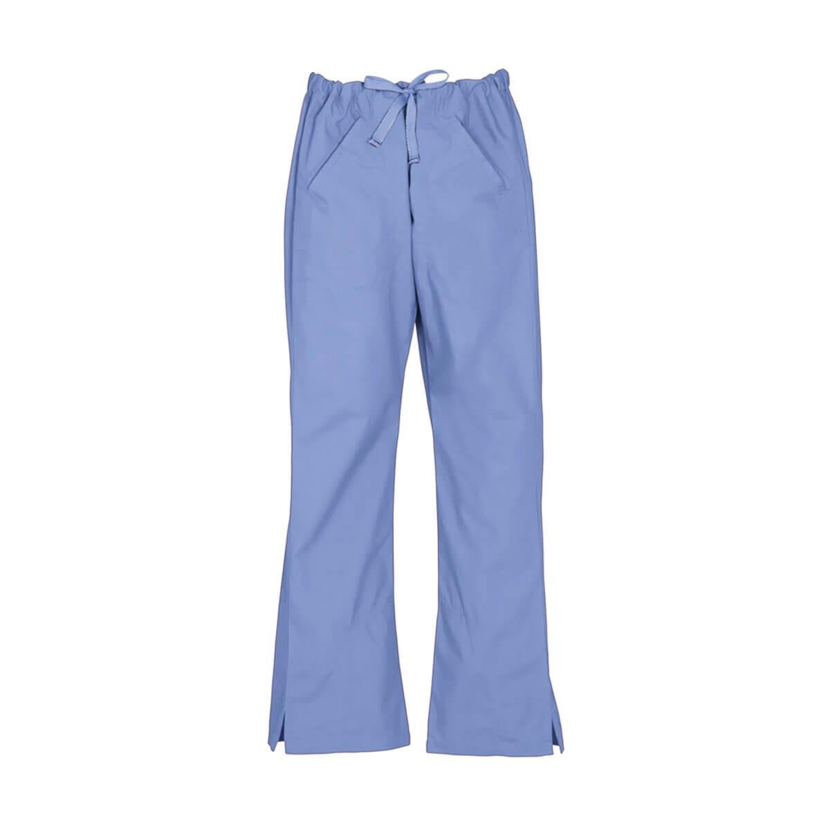 Ladies Classic Scrubs Bootleg Pant-Mid Blue