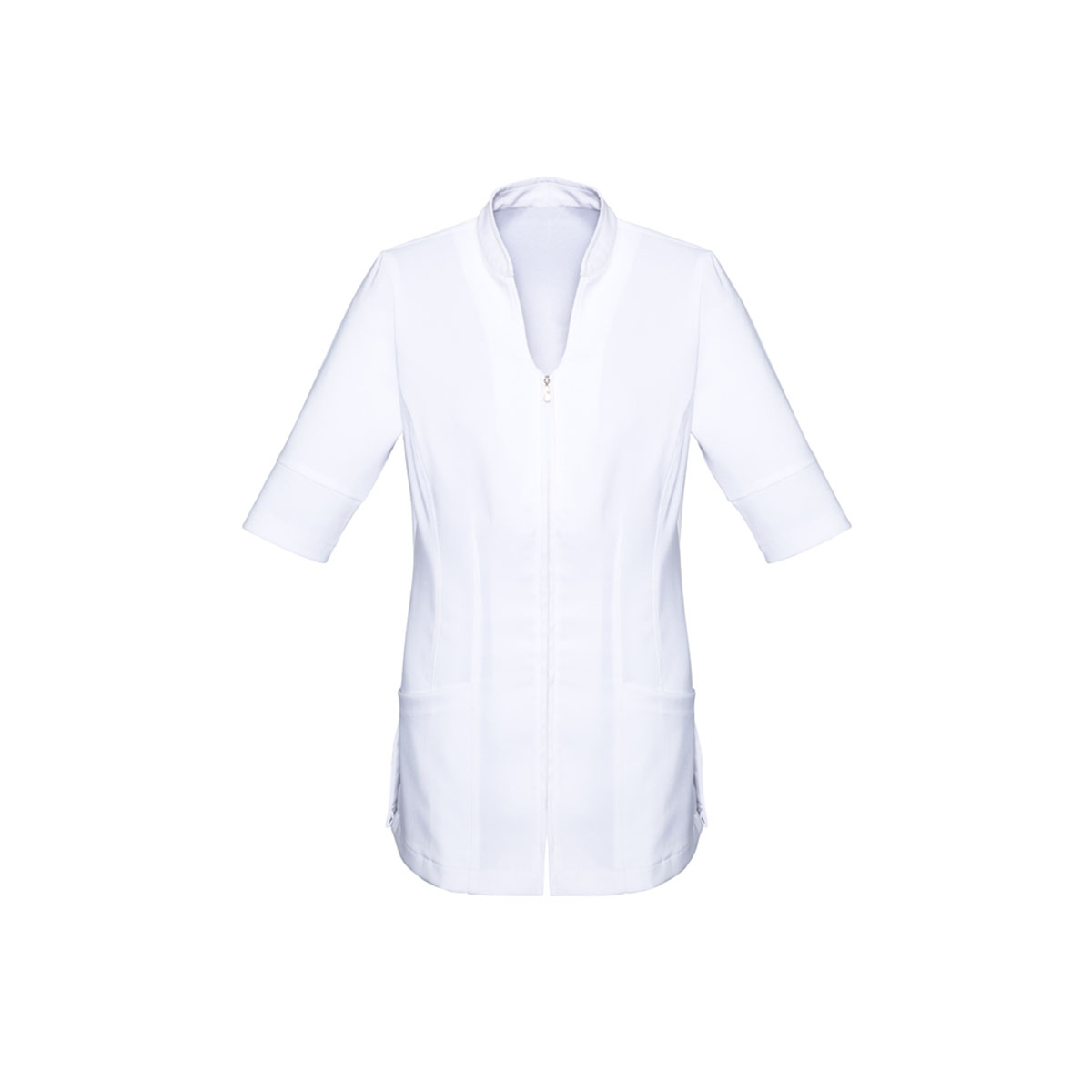 Ladies Bliss Tunic-White / White