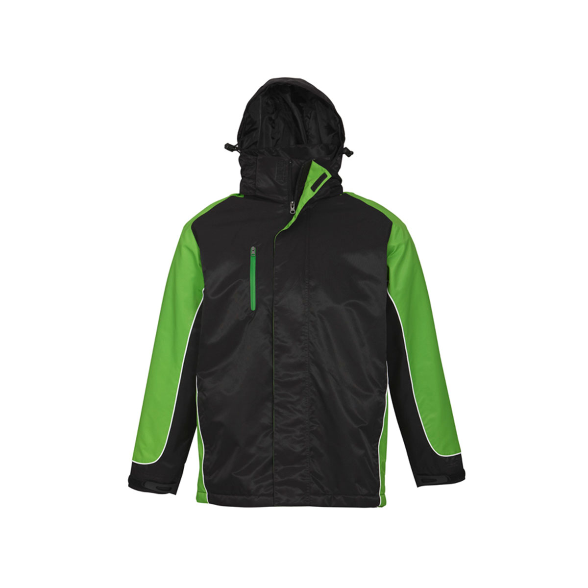 Unisex Nitro Jacket-Black / Green / White