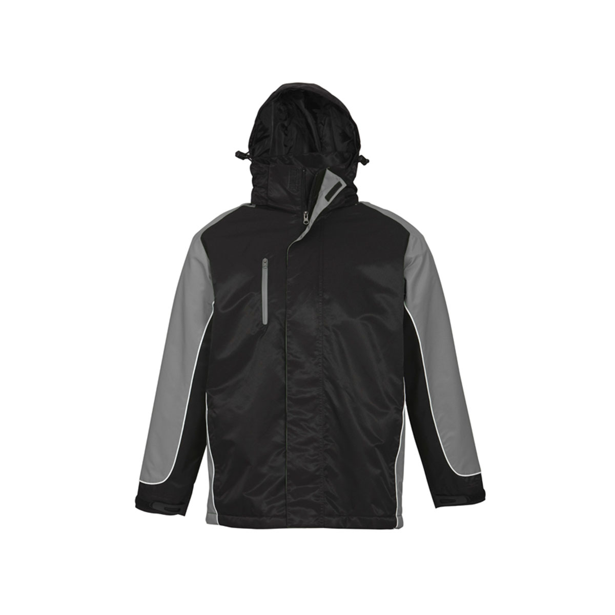 Unisex Nitro Jacket-Black / Grey / White