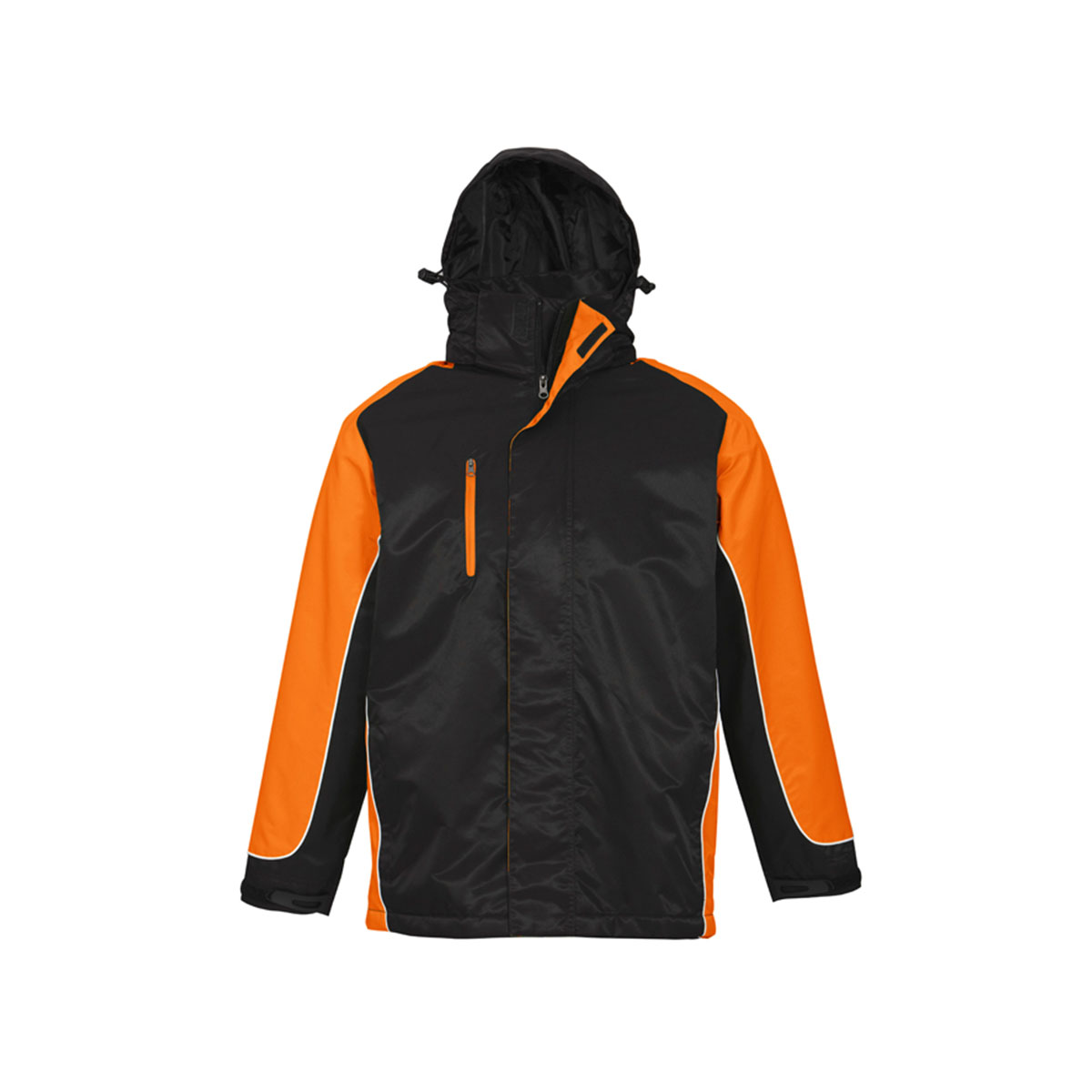 Unisex Nitro Jacket-Black / Orange / White