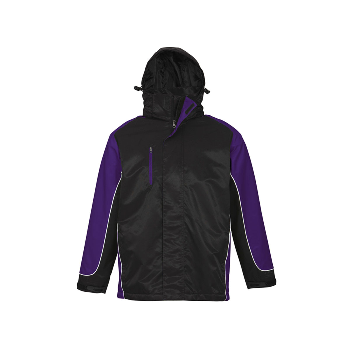 Unisex Nitro Jacket-Black / Purple / White