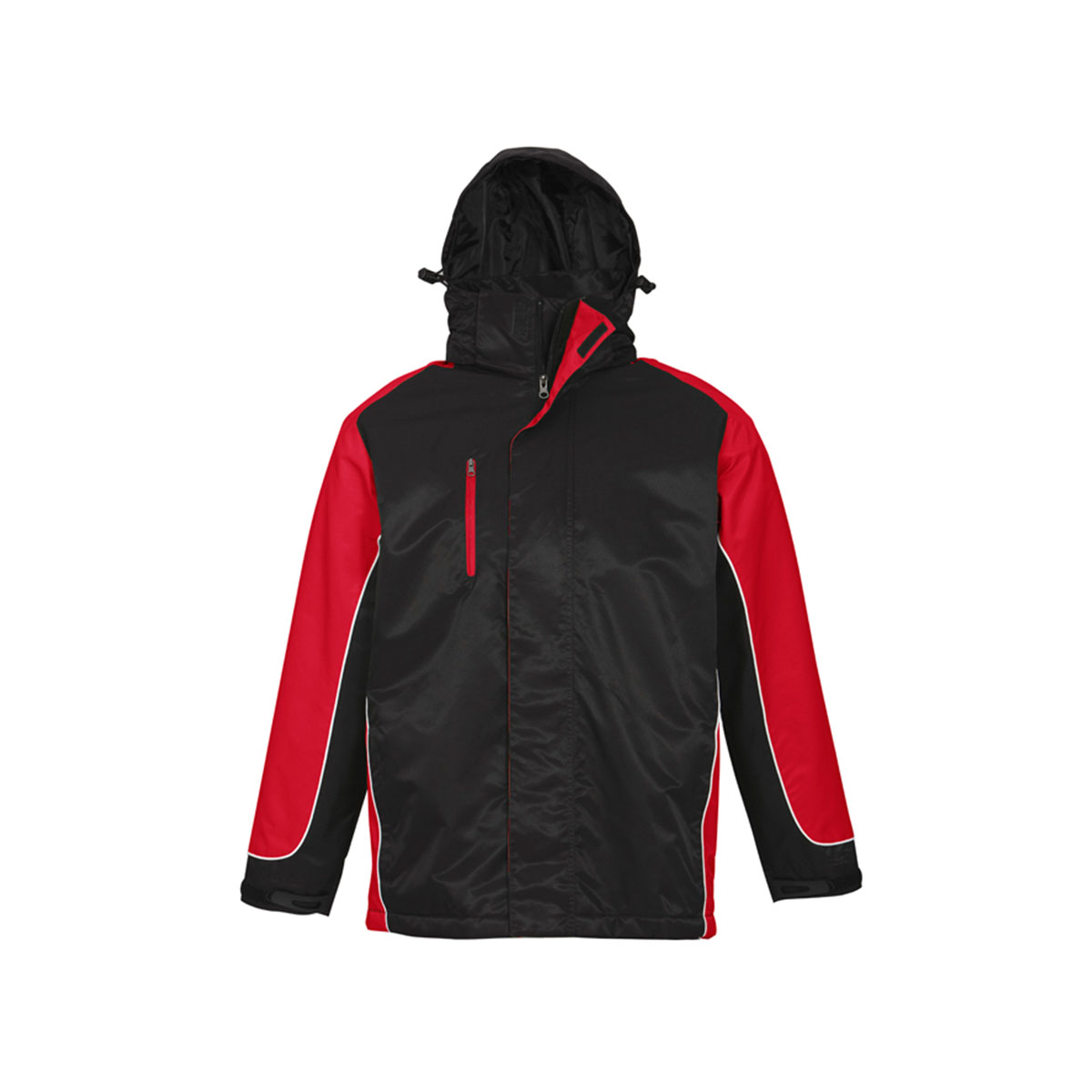 Unisex Nitro Jacket-Black / Red / White