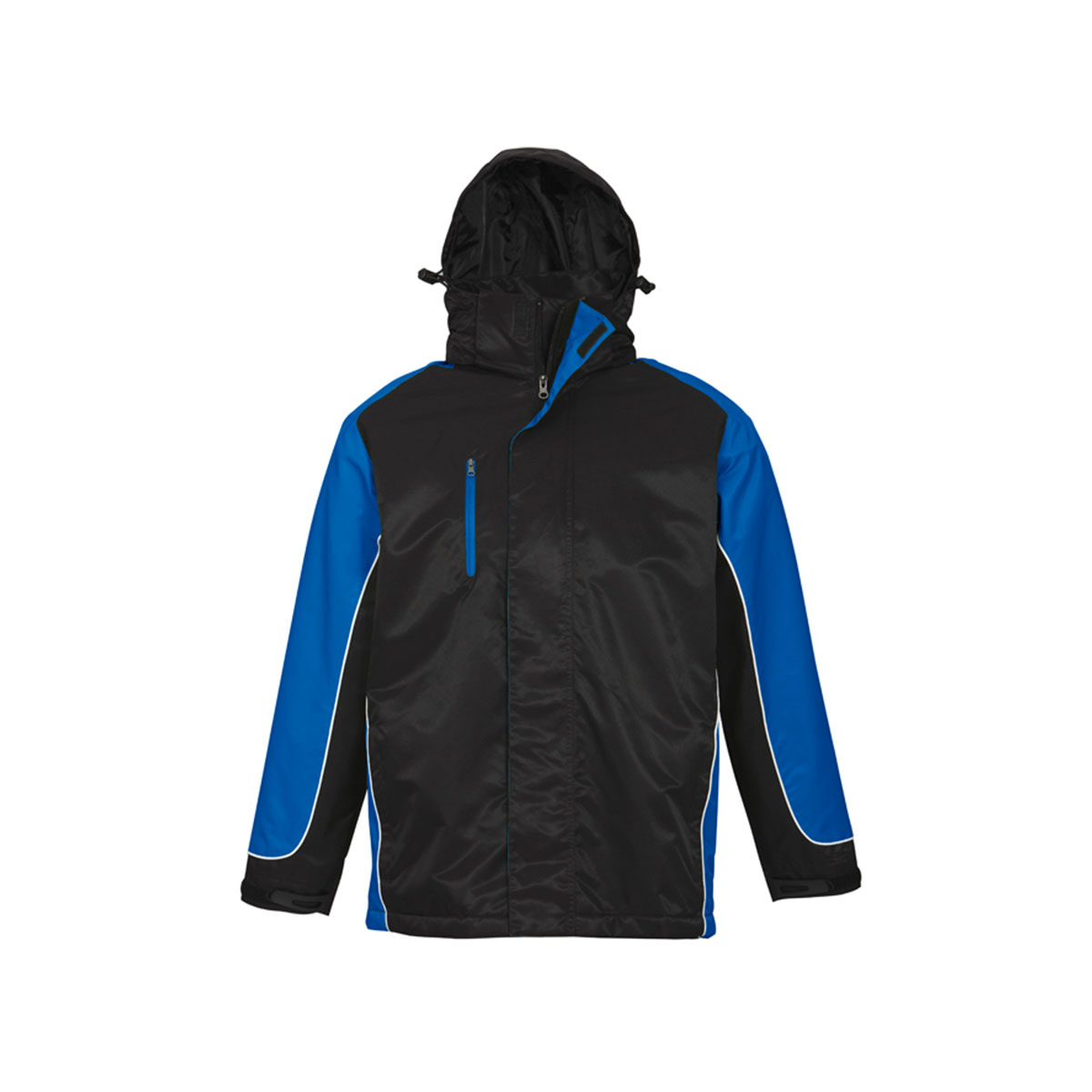 Unisex Nitro Jacket-Black / Royal / White