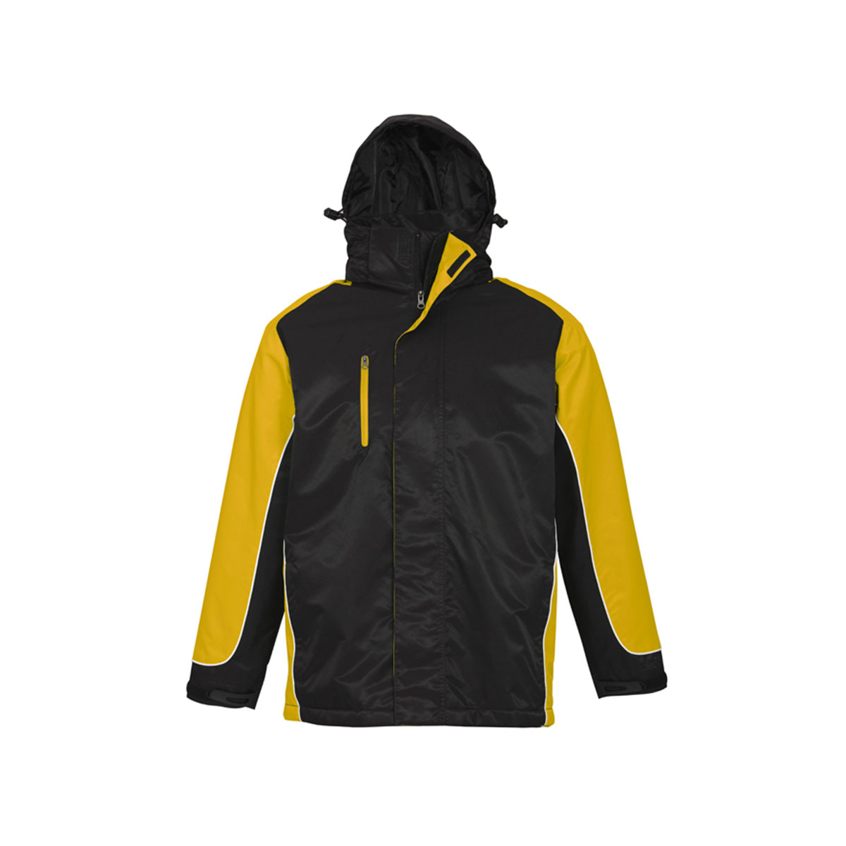 Unisex Nitro Jacket-Black / Yellow / White