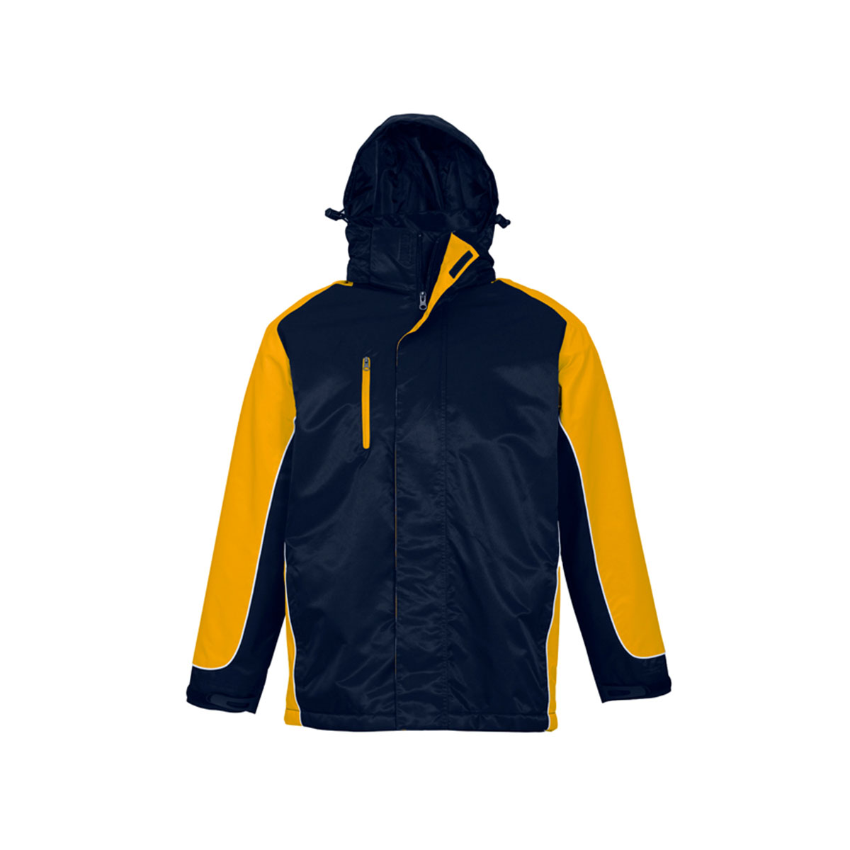 Unisex Nitro Jacket-Navy / Gold / White