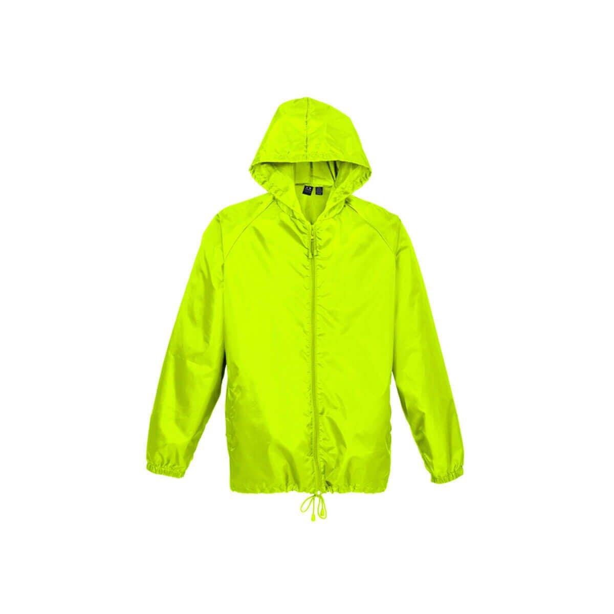 Unisex Base Jacket-Fluoro Lime