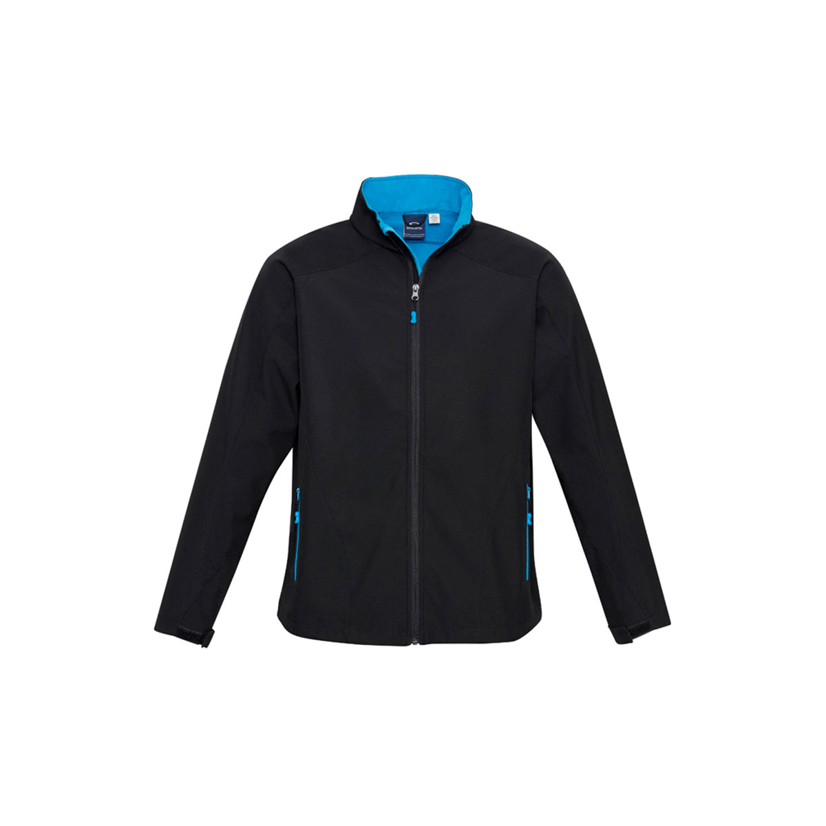 Kids Geneva Jacket-Black / Cyan