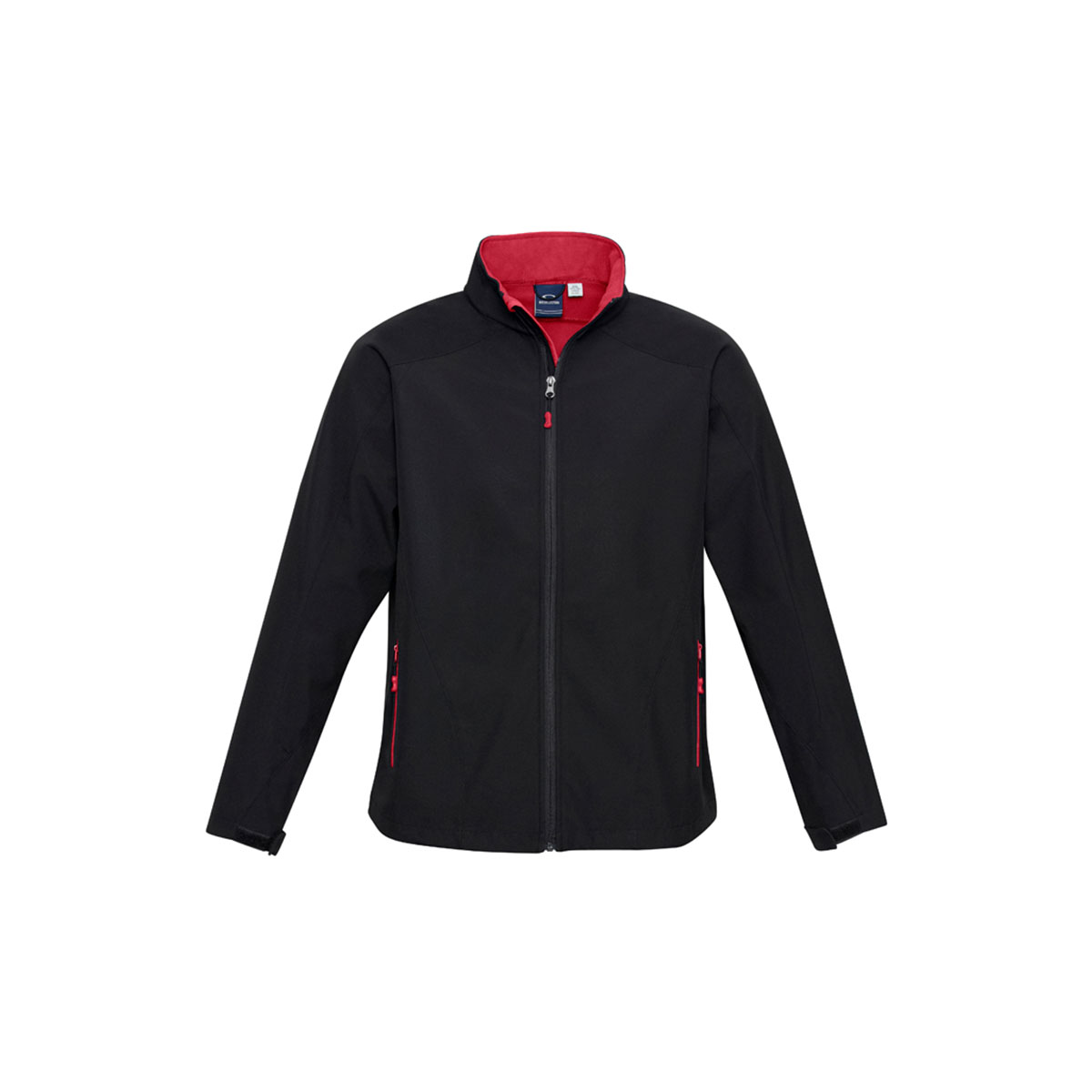 Kids Geneva Jacket-Black / Red