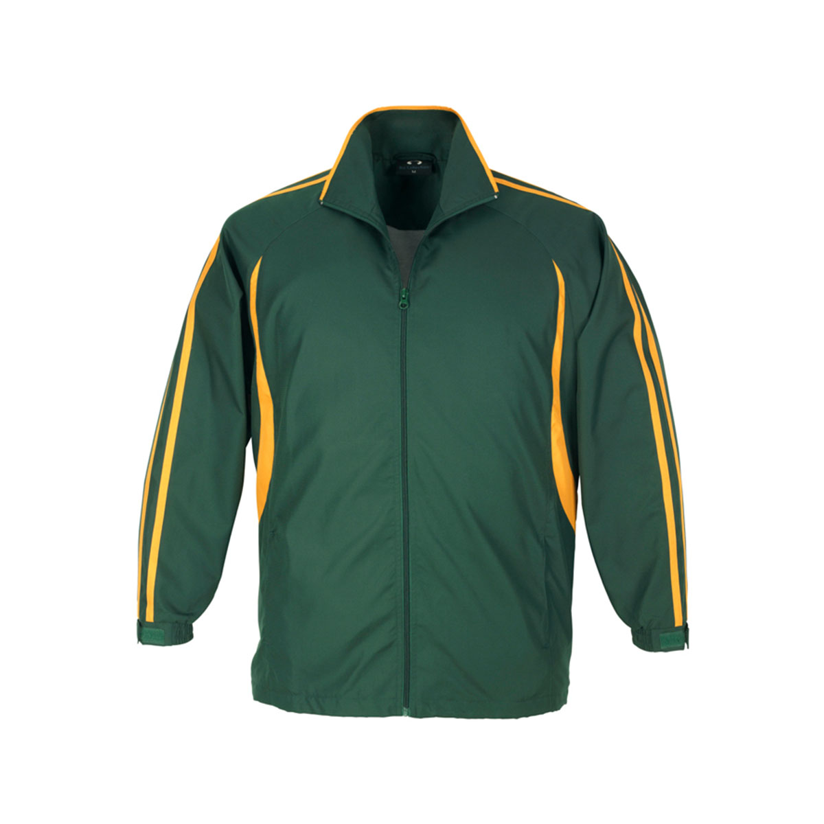 Adults Flash Track Top-Forest / Gold