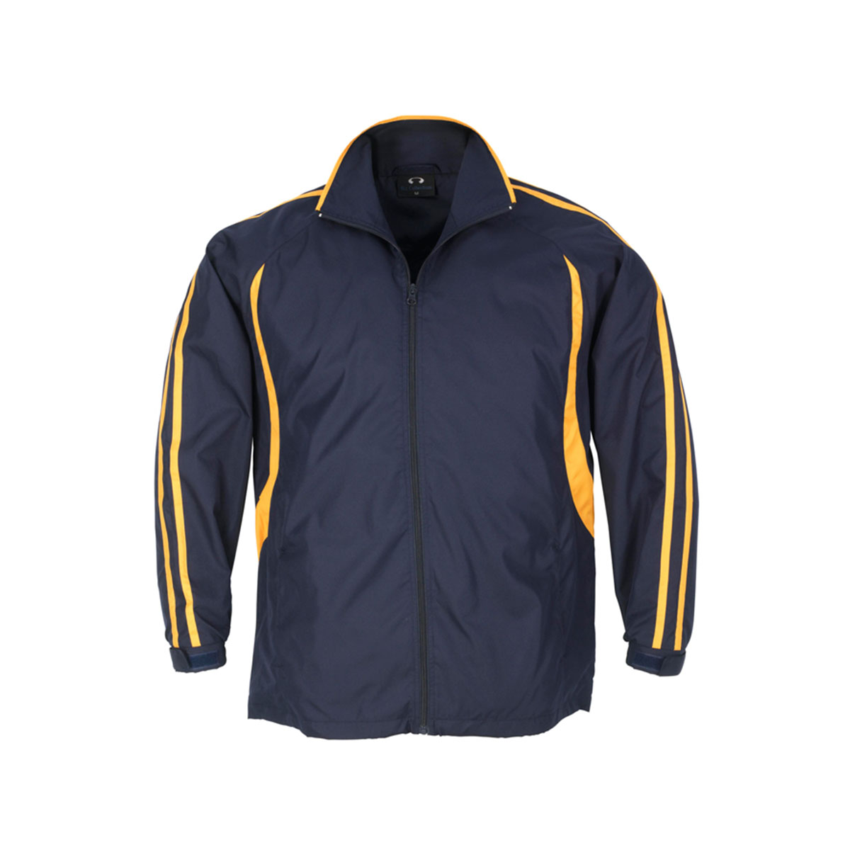 Adults Flash Track Top-Navy / Gold