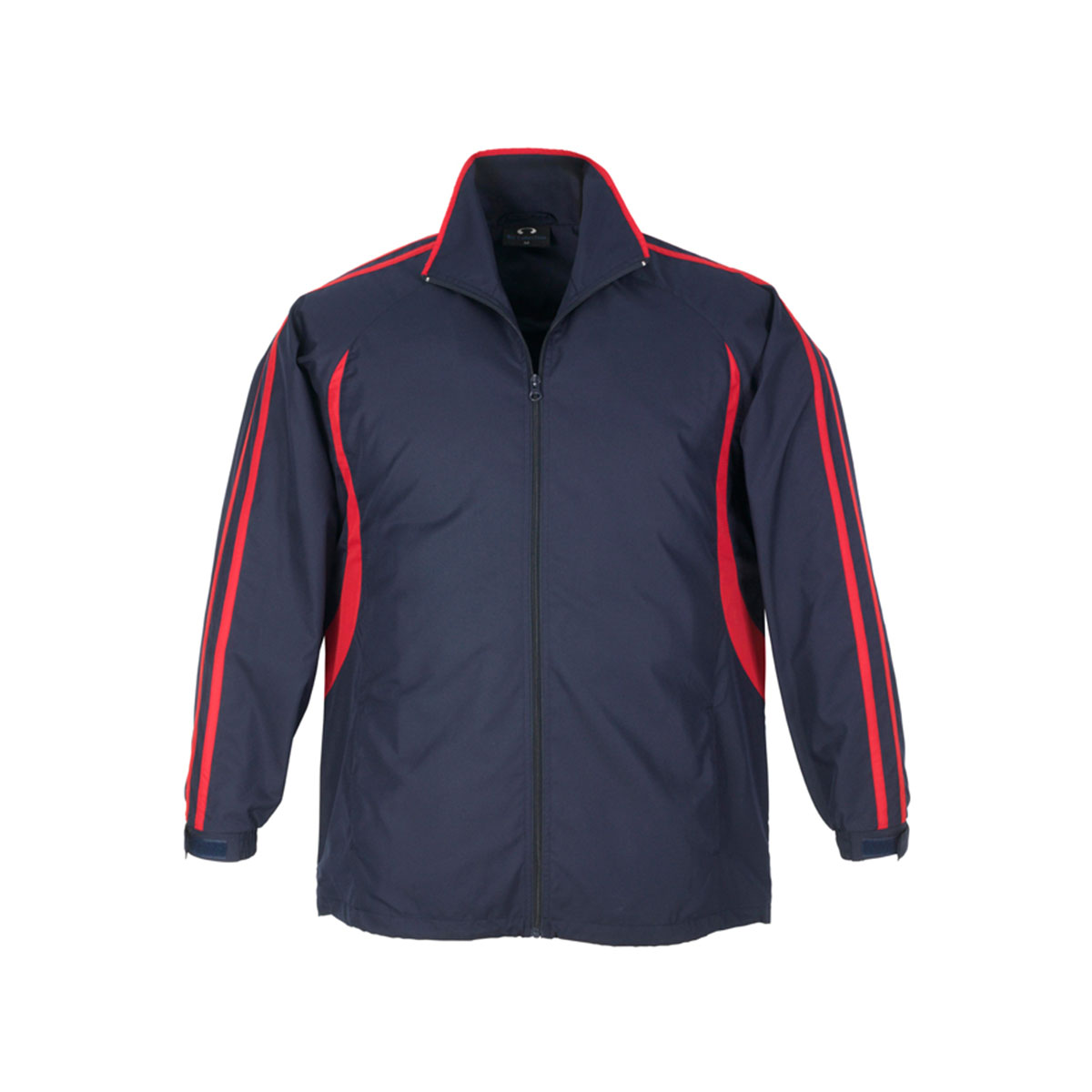 Adults Flash Track Top-Navy / Red