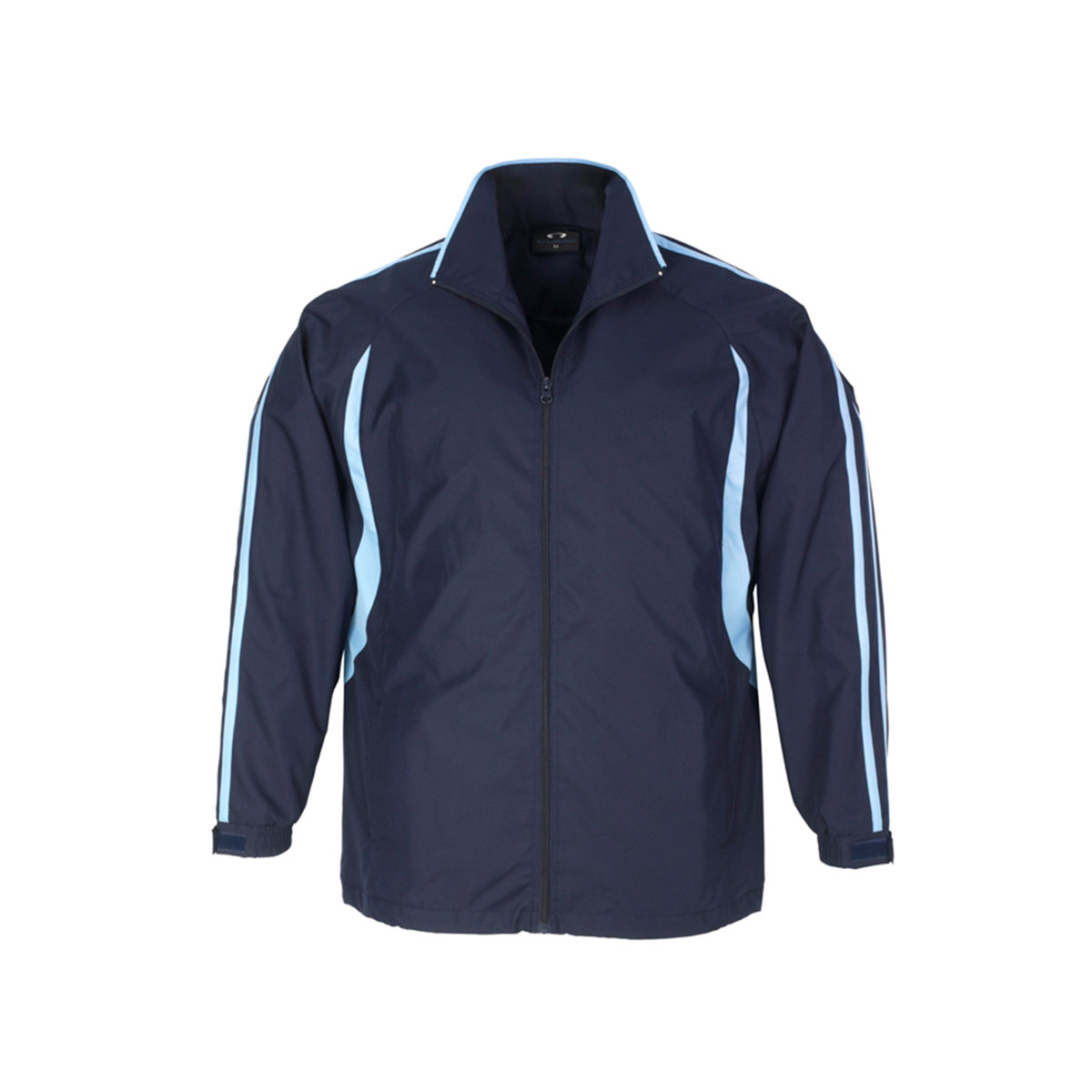 Adults Flash Track Top-Navy / Sky