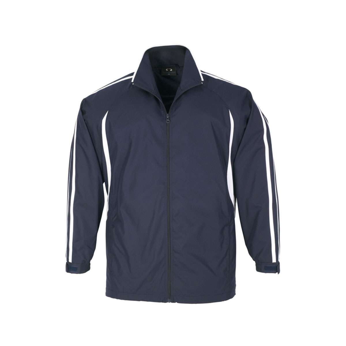 Adults Flash Track Top-Navy / White