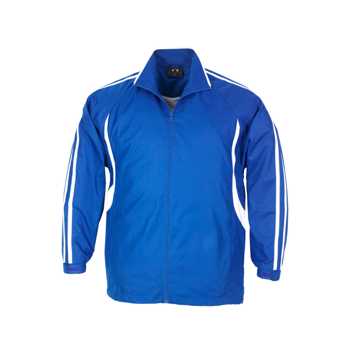 Adults Flash Track Top-Royal / White