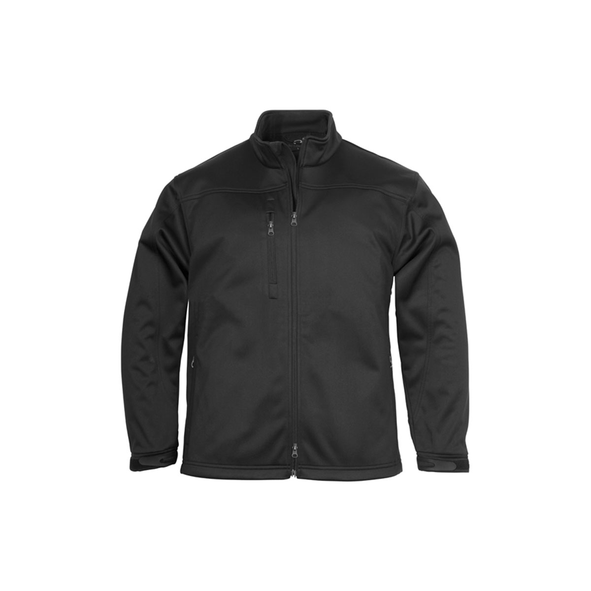 Mens Soft Shell Jacket-Black