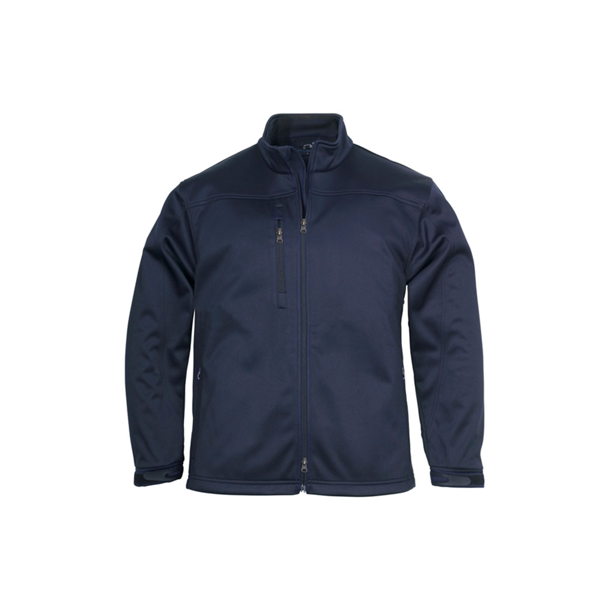 Mens Soft Shell Jacket-Navy