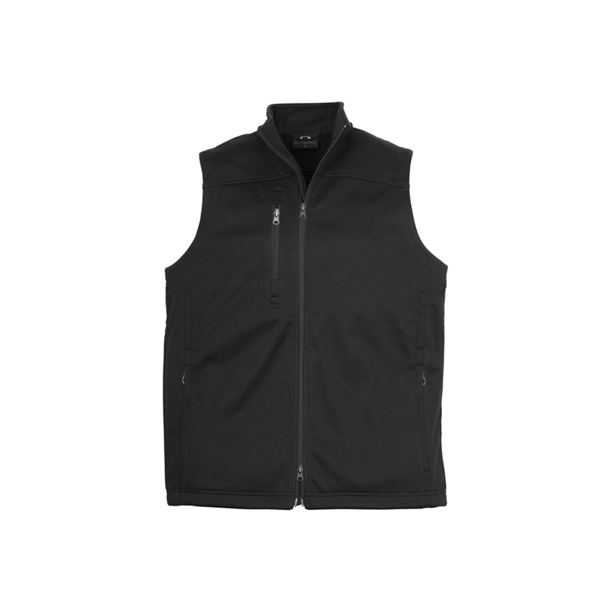 Mens Soft Shell Vest-Black