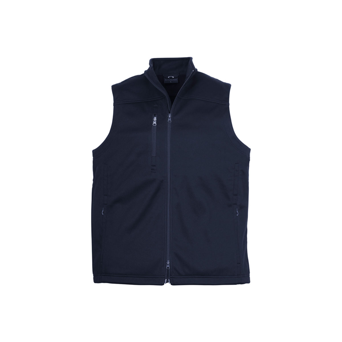 Mens Soft Shell Vest-Navy
