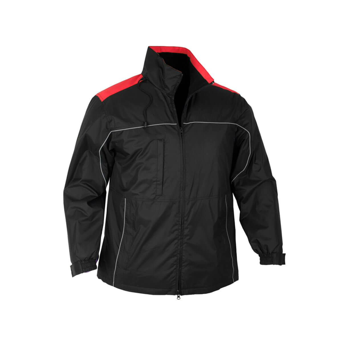 Mens Reactor Jacket-Black / Red